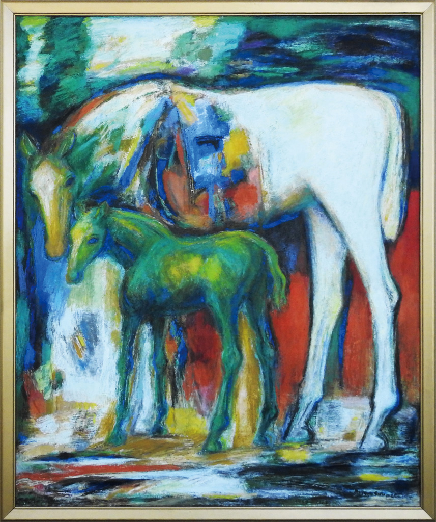 Horses – Mother And Child
