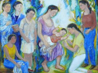 誕生・母子