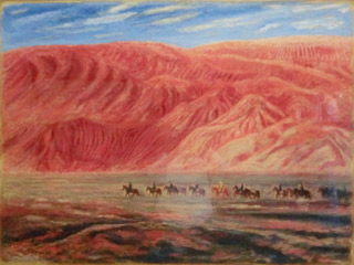 Xuanzang – The Journey Of Seeking Dharma – Depart From Gaochang Castle