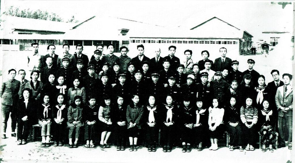 宮崎市立生目中学校 集合写真