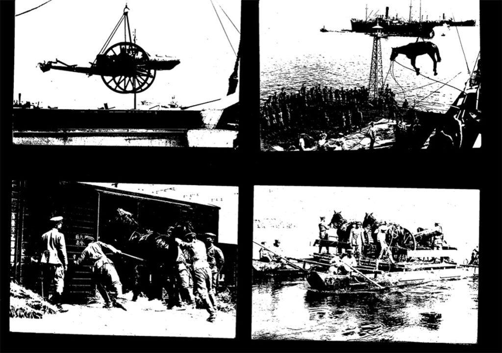 戦場の写真