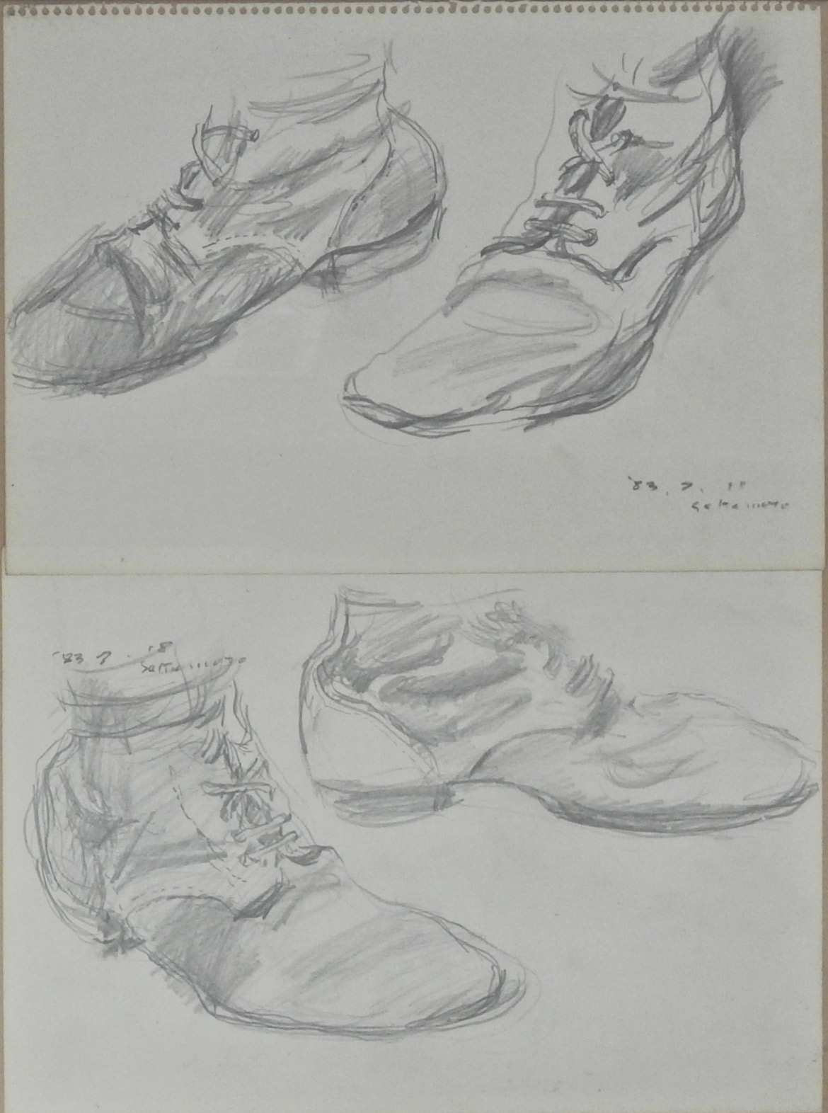 Sketch (Military shoes)