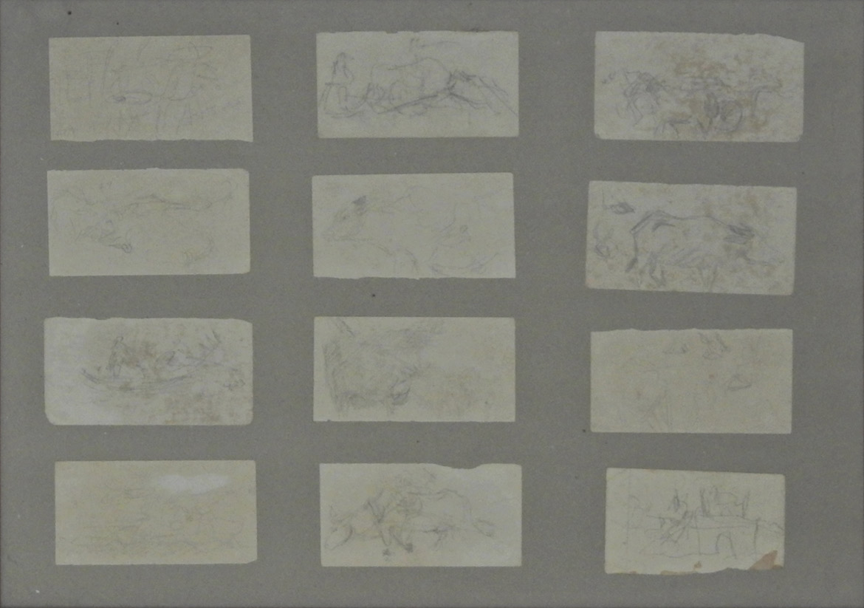 Sketch (Cow, Horse, etc.) 12 sheets set