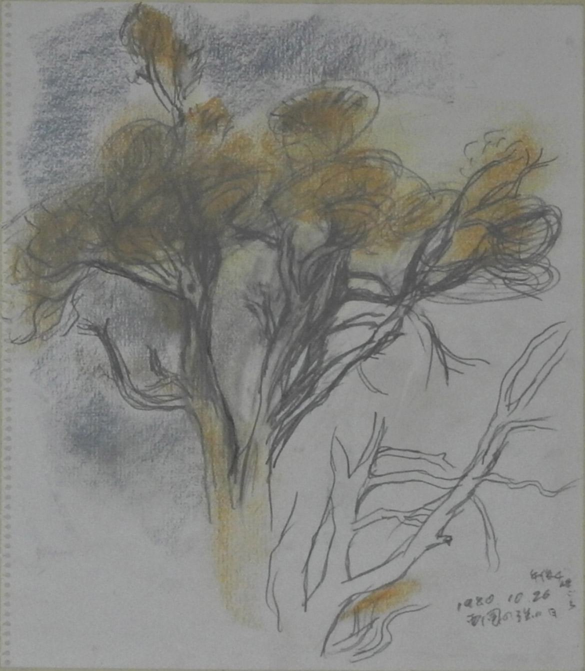 Sketch (Strongest day of westerly wind)