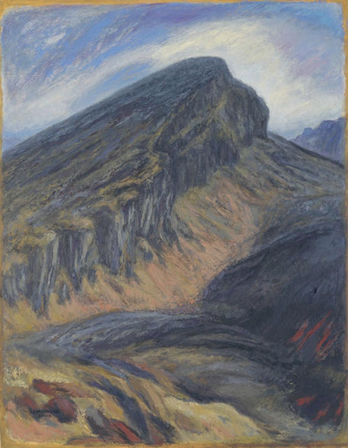 ふるさとの山 韓国岳の絶壁