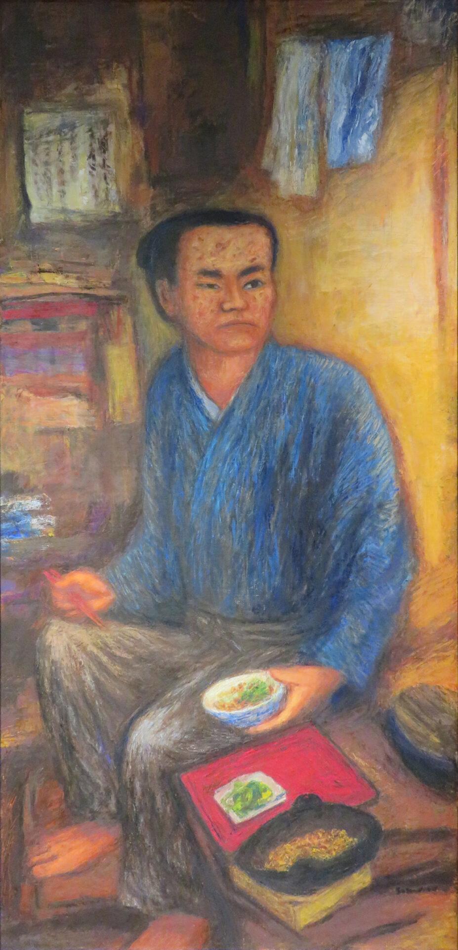 Yasui Sokken eats in the name of Chuhei beans. (22 years old)