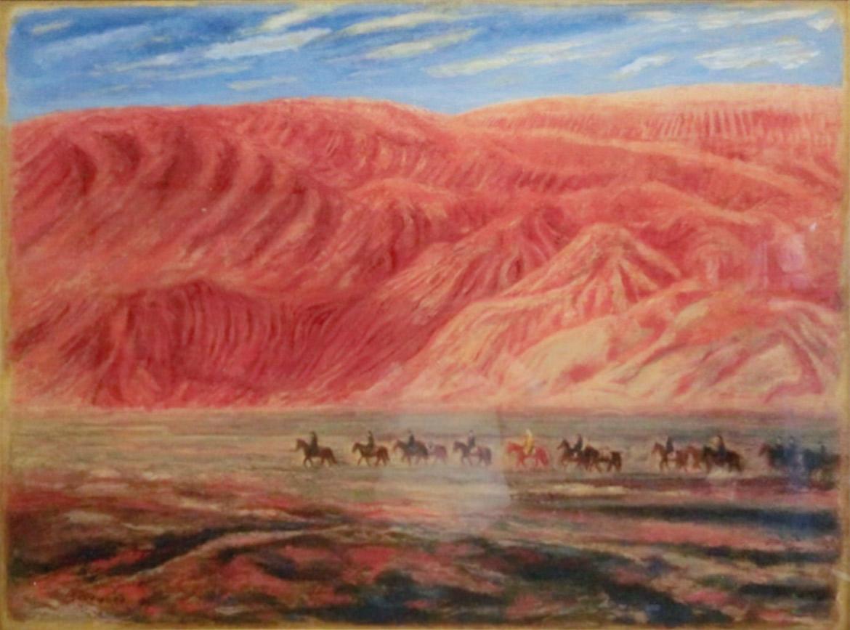 Xuanzang - The journey of seeking dharma - Depart from Gaochang Castle